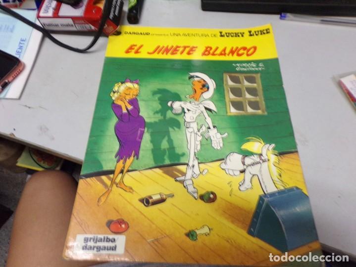 EL JINETE BLANCO 2 GRIJALBO (Tebeos y Comics - Grijalbo - Lucky Luke)
