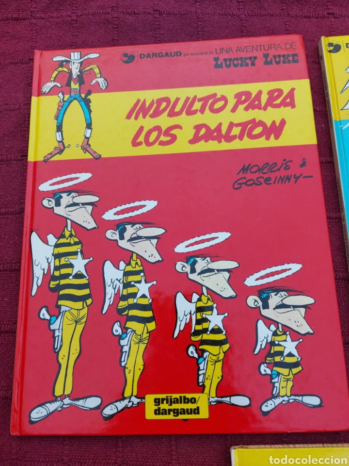 Cómics: LUCKY LUKE: LA DILIGENCIA, EL BANDIDO MECANICO,DALTON CITY, INDULTO PARA LOS DALTON, REMONTANDO EL M - Foto 2 - 215580831