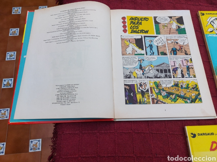 Cómics: LUCKY LUKE: LA DILIGENCIA, EL BANDIDO MECANICO,DALTON CITY, INDULTO PARA LOS DALTON, REMONTANDO EL M - Foto 3 - 215580831