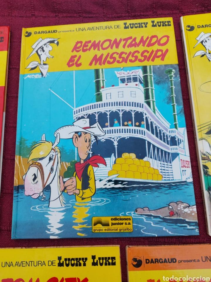 Cómics: LUCKY LUKE: LA DILIGENCIA, EL BANDIDO MECANICO,DALTON CITY, INDULTO PARA LOS DALTON, REMONTANDO EL M - Foto 5 - 215580831