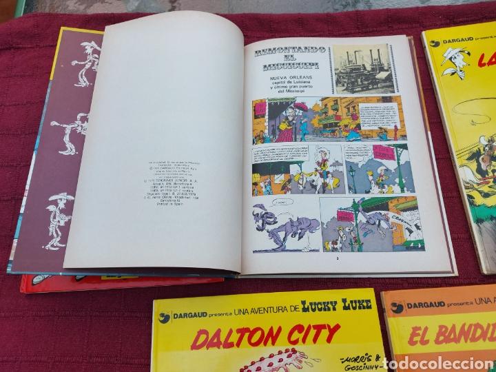 Cómics: LUCKY LUKE: LA DILIGENCIA, EL BANDIDO MECANICO,DALTON CITY, INDULTO PARA LOS DALTON, REMONTANDO EL M - Foto 6 - 215580831