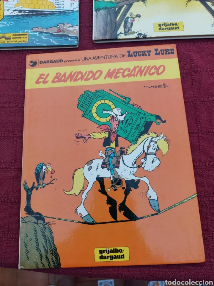 Cómics: LUCKY LUKE: LA DILIGENCIA, EL BANDIDO MECANICO,DALTON CITY, INDULTO PARA LOS DALTON, REMONTANDO EL M - Foto 14 - 215580831