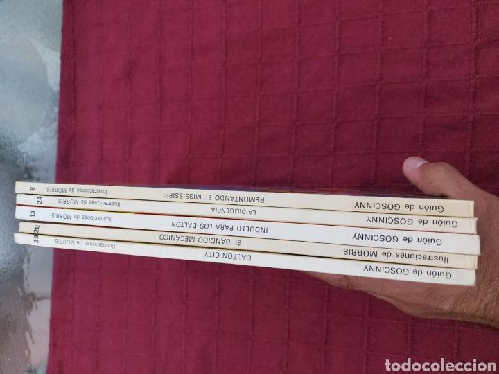 Cómics: LUCKY LUKE: LA DILIGENCIA, EL BANDIDO MECANICO,DALTON CITY, INDULTO PARA LOS DALTON, REMONTANDO EL M - Foto 28 - 215580831
