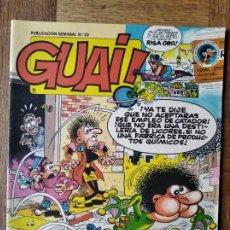 Cómics: GUAI! Nº 29 - EDICIONES JUNIOR GRIJALBO-. Lote 215647012