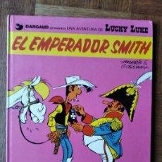 Cómics: EL EMPERADOR SMITH, UNA AVENTURA DE LUCKY LUKE - GRIJALBO TAPA DURA 1982 -. Lote 215655041