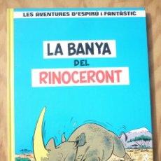 Cómics: ESPIRÚ I FANTÀSTIC 4 LA BANYA DEL RINOCERONT. Lote 215919190