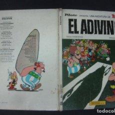Cómics: ASTERIX. EL ADIVINO .EDITORIAL BRUGUERA PILOTE 1973.. Lote 216432766