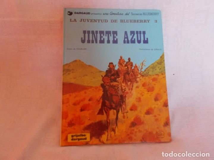 BLUEBERRY Nº 14 JINETE AZUL (Tebeos y Comics - Grijalbo - Blueberry)