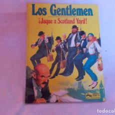 Cómics: LOS GENTLEMEN Nº 1 ¡JAQUE A SCOTLAND YARD!. Lote 216477527