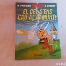 Cómics: ASTERIX EL CEL S'ENS CAU AL DAMUNT ERROR EN EL TITULO. Lote 216480060