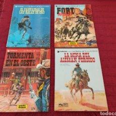 Cómics: TENIENTE BLUEBERRY-EL FANTASMA DE LAS BALAS DE ORO-LA MINA DEL ALEMAN PERDIDO-FORT NAVAJO,-TORMENTA. Lote 216487618