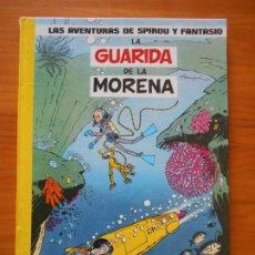Comics : LAS AVENTURAS DE SPIROU Y FANTASIO Nº 7 - LA GUARIDA DE LA MORENA - JUNIOR, GRIJALBO - TAPA DURA (T). Lote 216542658