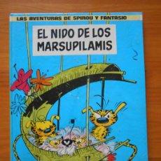 Cómics: LAS AVENTURAS DE SPIROU Y FANTASIO Nº 10 - EL NIDO DE LOS MARSUPILAMIS - LEER DESCRIPCION (T). Lote 216543541