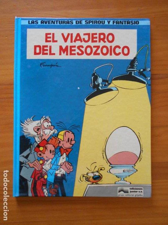 LAS AVENTURAS DE SPIROU Y FANTASIO Nº 11 - EL VIAJERO DEL MESOZOICO - JUNIOR - TAPA DURA (T) (Tebeos y Comics - Grijalbo - Spirou)