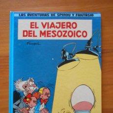 Comics : LAS AVENTURAS DE SPIROU Y FANTASIO Nº 11 - EL VIAJERO DEL MESOZOICO - JUNIOR - TAPA DURA (T). Lote 216544001