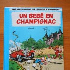 Comics : LAS AVENTURAS DE SPIROU Y FANTASIO Nº 15 - UN BEBE EN CHAMPIGNAC - JUNIOR, GRIJALBO - TAPA DURA (CN). Lote 216545450