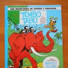 Comics : LAS AVENTURAS DE SPIROU Y FANTASIO Nº 16 - TEMBO TABU - JUNIOR, GRIJALBO - TAPA DURA (CN). Lote 216545727