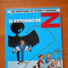 Comics : LAS AVENTURAS DE SPIROU Y FANTASIO Nº 18 - EL RETORNO DE Z - JUNIOR, GRIJALBO - TAPA DURA (CN). Lote 216546468