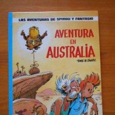 Comics : LAS AVENTURAS DE SPIROU Y FANTASIO Nº 20 - AVENTURA EN AUSTRALIA - JUNIOR, GRIJALBO - TAPA DURA (AÑ). Lote 216547920