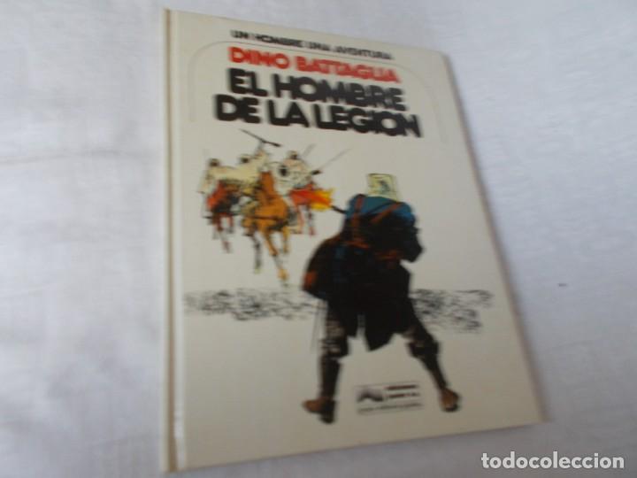 UN HOMBRE UNA AVENTURA Nº 1 EL HOMBRE DE LA LEGIÓN (Tebeos y Comics - Grijalbo - Otros)