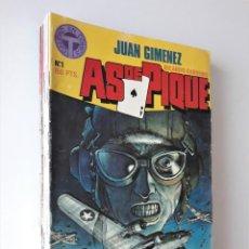 Cómics: AS DE PIQUE ¡¡COMPLETA!! 10 NÚMEROS SUELTOS - JUAN GIMÉNEZ - TOUTAIN EDITOR. Lote 216656440
