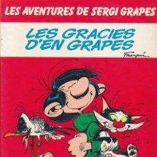 Comics : COMIC LES AVENTURES DE SERGI GRAPES LES GRACIES D'EN GRAPES. Lote 216703382