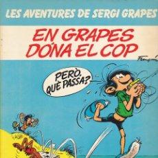Comics : COMIC LES AVENTURES DE SERGI GRAPES EN GRAPES DONA EL COP. Lote 216703426
