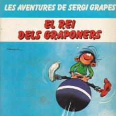 Comics : COMIC LES AVENTURES DE SERGI GRAPES EL REI DELS GRAPONERS. Lote 216703442