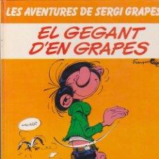 Comics : COMIC LES AVENTURES DE SERGI GRAPES EL GEGANT D'EN GRAPES. Lote 216703497