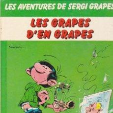 Comics : COMIC LES AVENTURES DE SERGI GRAPES LES GRAPES D'EN GRAPES. Lote 216703551