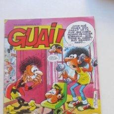 Cómics: GUAI Nº 155 - REVISTA DE HUMOR - EDICIONES JUNIOR / TEBEOS S.A. IBAÑEZ RAF CX68. Lote 216839098