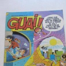 Cómics: GUAI Nº 105 - REVISTA DE HUMOR - EDICIONES JUNIOR / TEBEOS S.A. IBAÑEZ RAF CX68. Lote 216839447