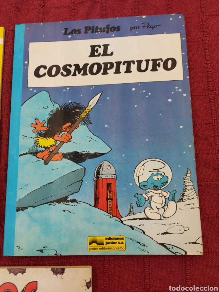 Cómics: LOS PITUFOS: HISTORIAS DE PITUFOS, EL COSMOPITUFO, APRENDIZ DE PITUFO, GRIJALBO, OLE, BRUGUERA - Foto 4 - 216874371