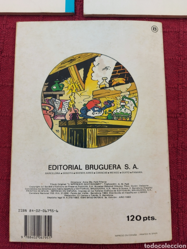 Cómics: LOS PITUFOS: HISTORIAS DE PITUFOS, EL COSMOPITUFO, APRENDIZ DE PITUFO, GRIJALBO, OLE, BRUGUERA - Foto 6 - 216874371