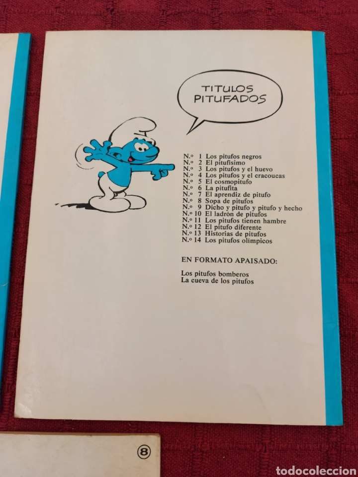 Cómics: LOS PITUFOS: HISTORIAS DE PITUFOS, EL COSMOPITUFO, APRENDIZ DE PITUFO, GRIJALBO, OLE, BRUGUERA - Foto 7 - 216874371