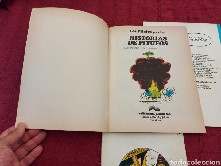 Cómics: LOS PITUFOS: HISTORIAS DE PITUFOS, EL COSMOPITUFO, APRENDIZ DE PITUFO, GRIJALBO, OLE, BRUGUERA - Foto 12 - 216874371