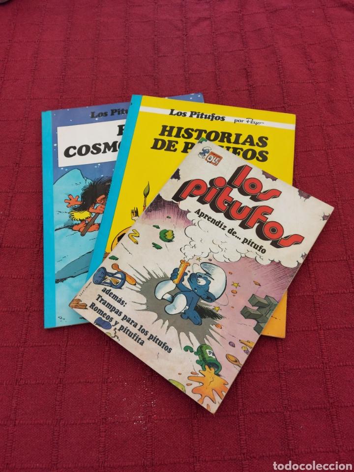 LOS PITUFOS: HISTORIAS DE PITUFOS, EL COSMOPITUFO, APRENDIZ DE PITUFO, GRIJALBO, OLE, BRUGUERA (Tebeos y Comics - Grijalbo - Otros)