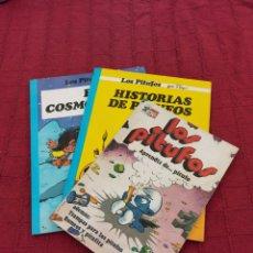 Cómics: LOS PITUFOS: HISTORIAS DE PITUFOS, EL COSMOPITUFO, APRENDIZ DE PITUFO, GRIJALBO, OLE, BRUGUERA. Lote 216874371