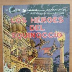 Cómics: VALERIAN. LOS HÉROES DEL EQUINOCCIO. MEZIERES Y CHRISTIN. EDITORIAL GRIJALBO.. Lote 216904950