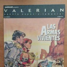 Cómics: VALERIAN. LAS ARMAS VIVIENTES. MEZIERES Y CHRISTIN. EDITORIAL GRIJALBO.. Lote 216905033