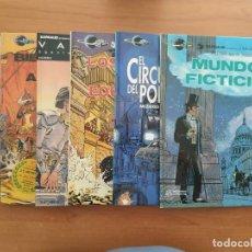 Comics : LOTE DE 6 COMICS DE VALERIAN. CHRISTIN Y MEZIERES. EDITORIAL GRIJALBO.. Lote 216907308