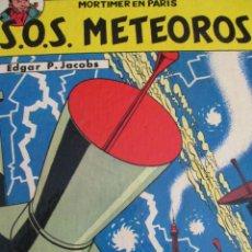 Cómics: S.OS. METEOROS-BLAKE MORTIMER. Lote 216989445
