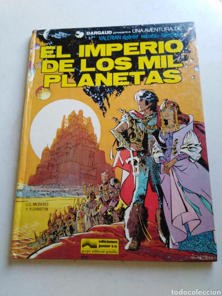EL IMPERIO DE LOS MIL PLANETAS NÚMERO 1, EDICIONES JUNIOR, GRIJALBO (Tebeos y Comics - Grijalbo - Valerian)