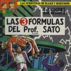 Cómics: BLAKE Y MORTIMER. LAS 3 FORMULAS DEL PROFESOR SATO. 2ª PARTE. EDGARD P.JACOBS. GRIJALBO. TAPA DURA. Lote 217204442