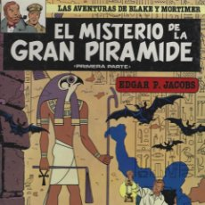 Cómics: BLAKE Y MORTIMER. EL MISTERIO DE LA GRAN PIRAMIDE 1ª PARTE. EDGARD P.JACOBS. GRIJALBO. TAPA DURA. Lote 217204761