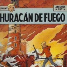 Fumetti: LEFRANC. HURACAN DE FUEGO. JACQUES MARTIN. GRIJALBO. TAPA DURA.. Lote 217207106