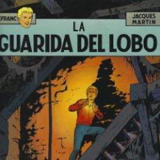 Fumetti: LEFRANC. LA GUARIDA DEL LOBO. JACQUES MARTIN. GRIJALBO. TAPA DURA.. Lote 217207435
