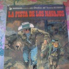 Cómics: LA PISTA DE LOS NAVAJOS TENIENTE BLUEBERRY Nº 22 DE CHARLIER Y GIRAUD GRIJALBO DARGAUD. Lote 217316123