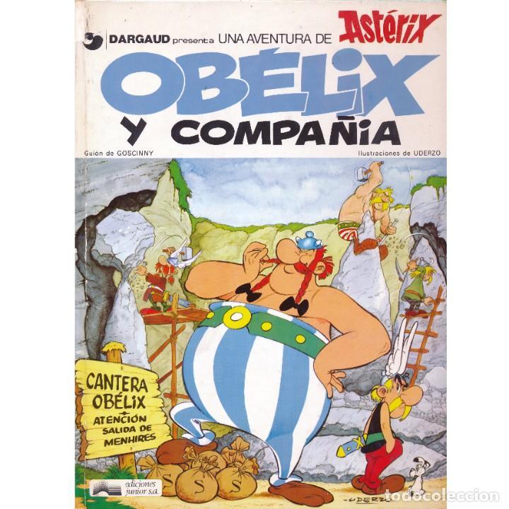 ASTERIX. OBELIX Y COMPAÑIA. ALBERT UDERZO. RENÉ GOSCINNY. GRIJALBO. TAPA DURA. OFERTA 2X1 (Tebeos y Comics - Grijalbo - Asterix)