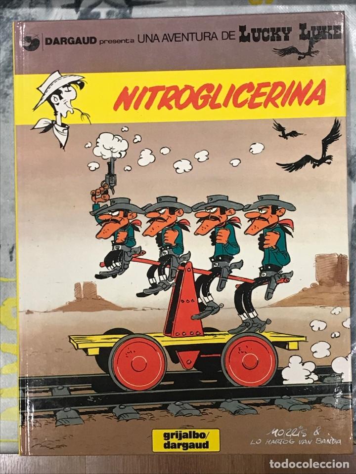 NITROGLICERINA DE LUCKY LUKE, Nº35 DE GRIJALBO, EN CATALAN, IMPECABLE, TAPA DURA (Tebeos y Comics - Grijalbo - Lucky Luke)